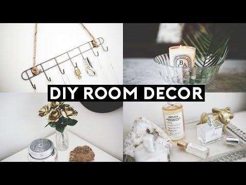 DIY TUMBLR ROOM DECOR! DOLLAR STORE DIYS 2018 | Nastazsa