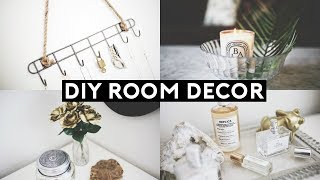 DIY TUMBLR ROOM DECOR! DOLLAR STORE DIYS 2018 | Nastazsa
