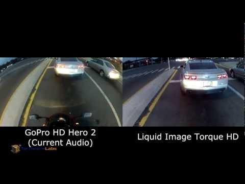 Liquid Image Torque HD Video Goggles vs GoPro HD Hero 2