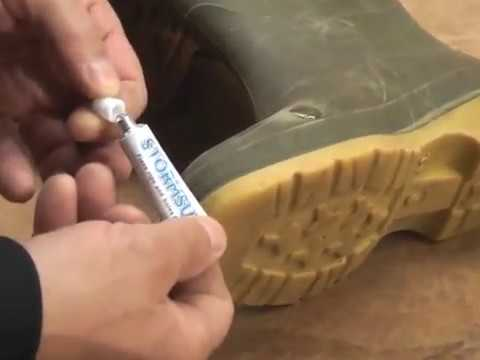 Repair Your Wellington Boots - YouTube