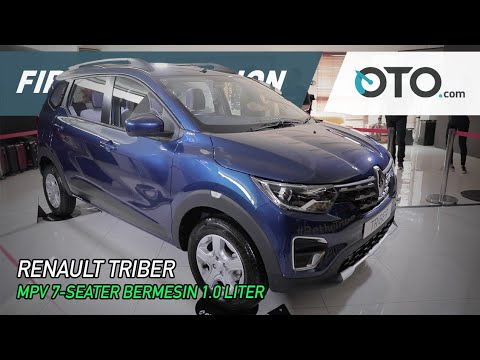 Renault Triber | First Impression | MPV-7 Seater Bermesin 1.0 Liter | GIIAS 2019 | OTO.com
