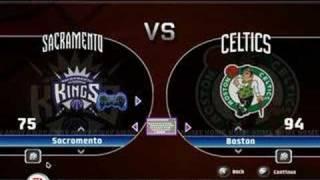 NBA Live 08 PC Main Menu