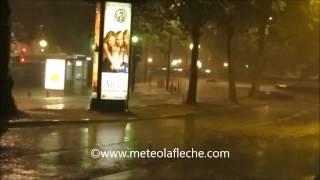 Orage du Lundi 9 Juin 2014 à Nantes