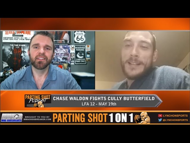 Chase Waldon talks LFA 12 fight May 19th, Layoff & TUF 26 being scrapped