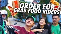 Giving Grab Food Riders Our ORDER & TIP!! (Nasurprise!!)   Ranz and Niana