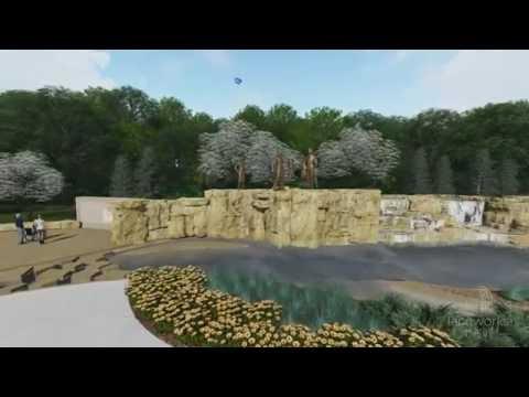 Chouteau Heritage Fountain   Design Tour 2016