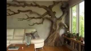 Интерьер гостинной комнаты.