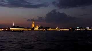 Ночная прогулка по рекам и каналам Санкт-Петербурга(2011 г. Агентство авторских экскурсий