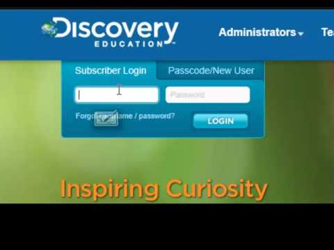 how to log in to discovery education in unit 5 youtube