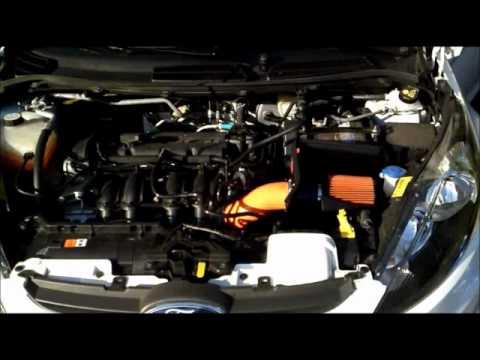ford fiesta mk7 with j1 automotive air intake kit. Black Bedroom Furniture Sets. Home Design Ideas