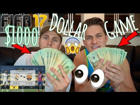 $1000 Dollar Game Of Fifa Ft. DavidAlvareeezy