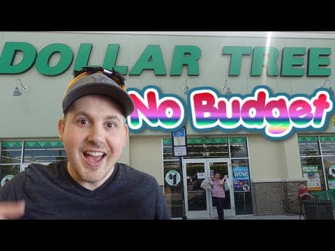 NO BUDGET DOLLAR TREE SHOPPiNG CHALLENGE FOR HALLOWEEN