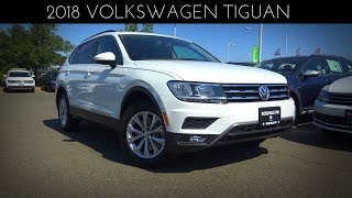 2018 Volkswagen Tiguan SE 2.0 L Turbocharged 4-Cylinder Review