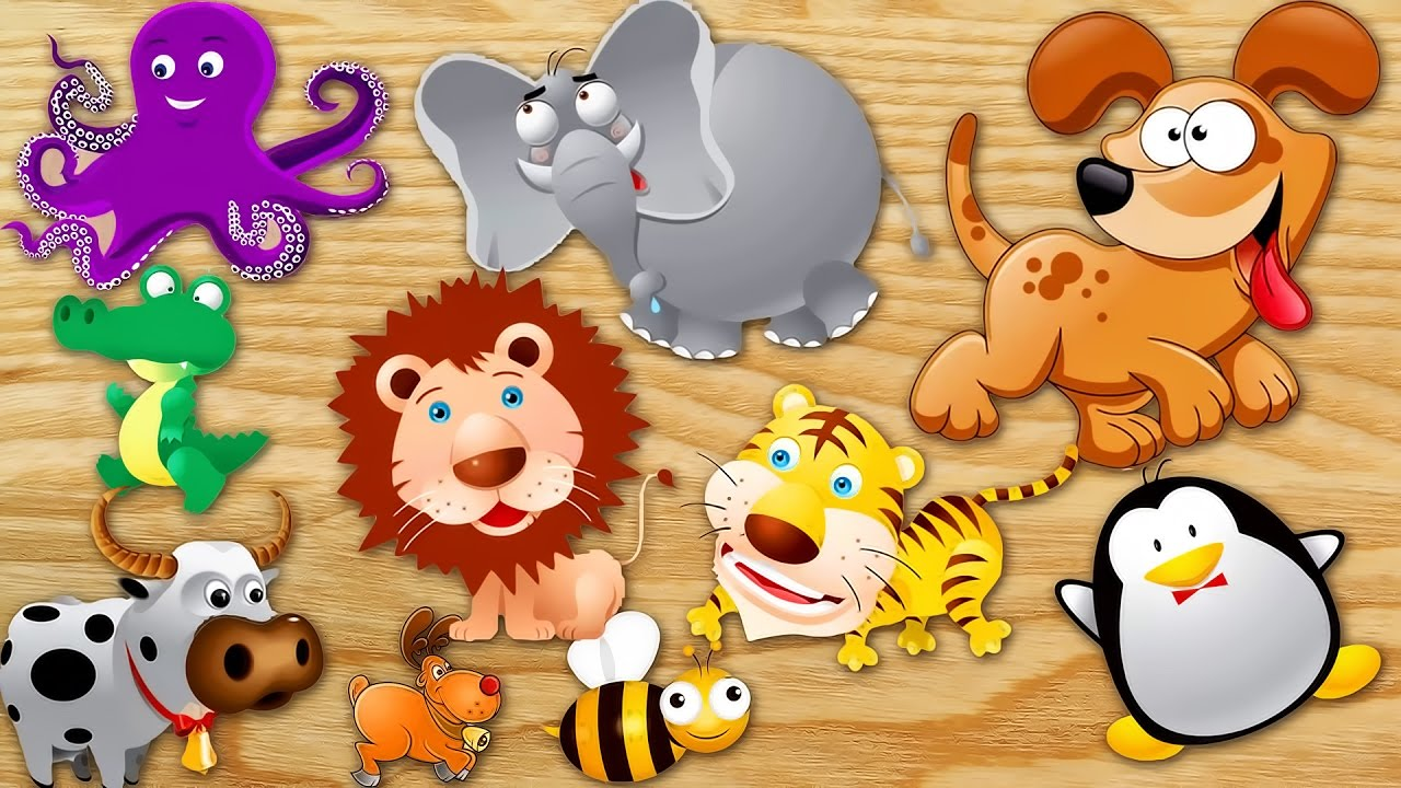 Learn Animals Names And Sounds