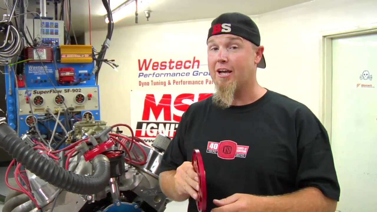 Msd 6a Wiring Diagram Ford Bryant Heat Pump Installing Ignition S Flying Magnet Crank Trigger Youtube
