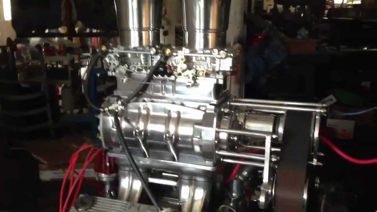 Supercharged 283 chevy