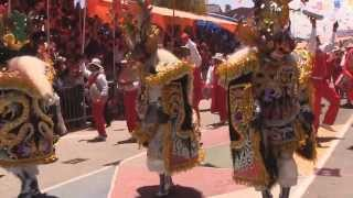 """2014 FRATERNIDAD ARTÍSTICA Y CULTURAL """"LA DIABLADA"""",  Carnaval de Oruro"""