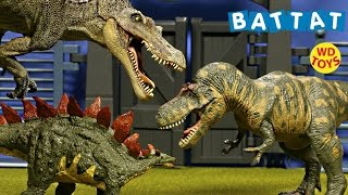 New 5 Terra Battat Dinosaur Toys T-Rex Vs Spinosaurus ,Tyrannosaurus Collection Unboxing