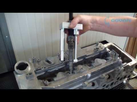 Broken Bolt Removal >> 311171000 - Estrattore iniettori Bosch (e Delphi) Mercedes 2.1, 2.2, 3.0 - YouTube