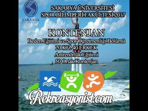 Sakarya Üniversitesi Spor Bilimleri Fakültesi Analizi 2017