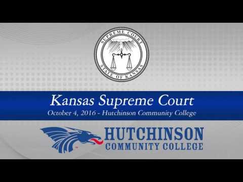 Kansas Supreme Court at Hutchinson Community College