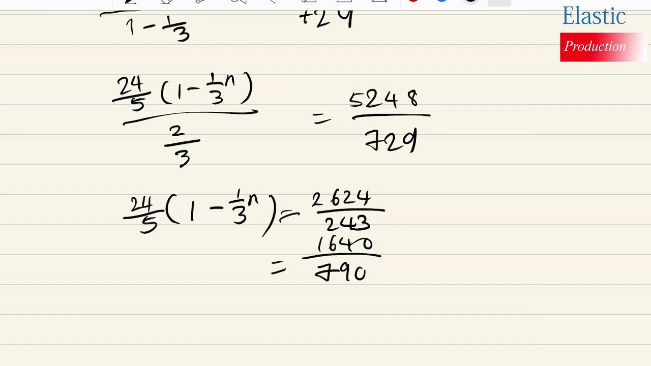 高二數學第一章等比數列挑戰題2 - YouTube