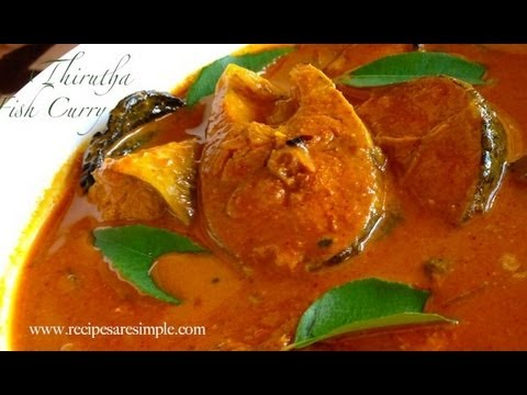Kerala Fish Curry Nadan Thirutha Curry Youtube