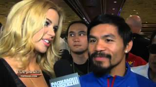 TopRank.Tv Interview With Pacquiao