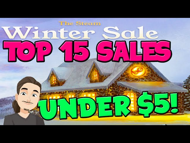 Top 15 Game Recommendations Under $5 || Steam Winter Sale 2020