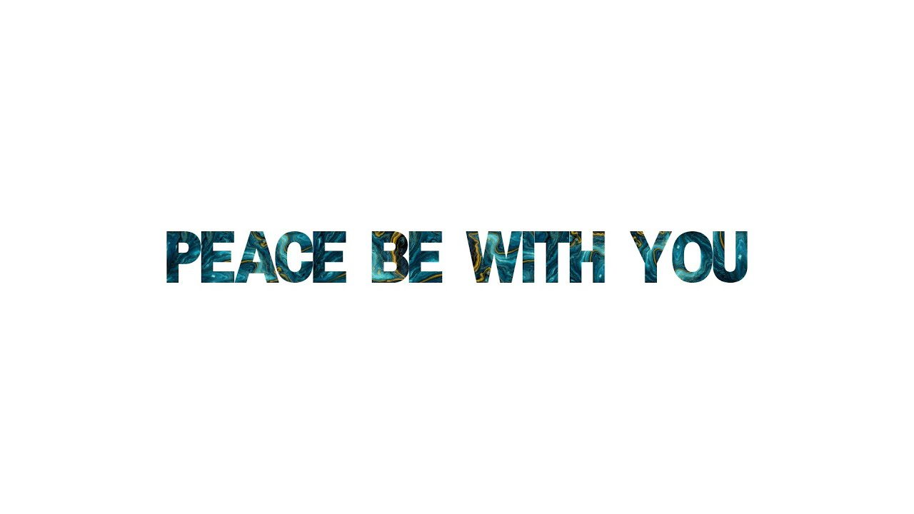 'Peace be with you' with Joe McNamara | Easter Service | 4.4.21