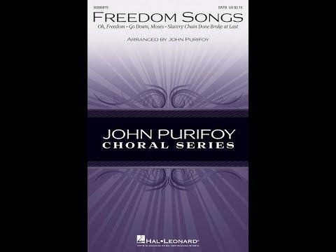 FREEDOM SONGS - arr. John Purifoy