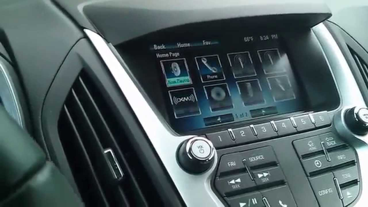 Chevy Equinox 2012 Radio Problem