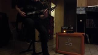 Enforcer - Silent hour (guitar cover)