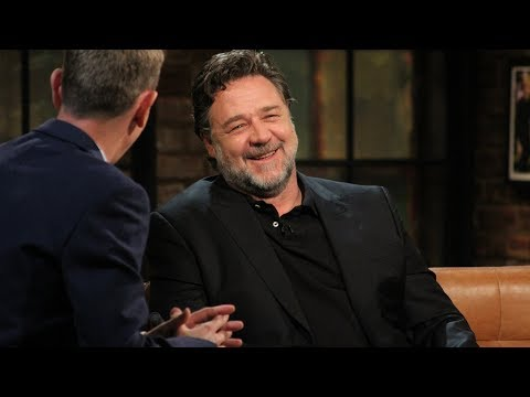 Russell Crowe has never had a sh*t pint in Dublin!  The Late Late   RTÉ One
