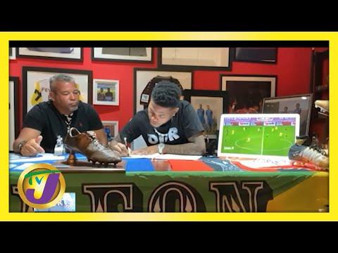 Jamaican Leon Baily Signs Reggae Boyz Contract - June 1 2021