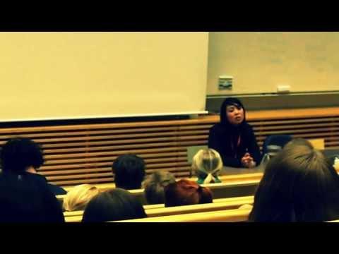 Shin Dong-Hyuk @ Södertörns Högskola 4/4/2013