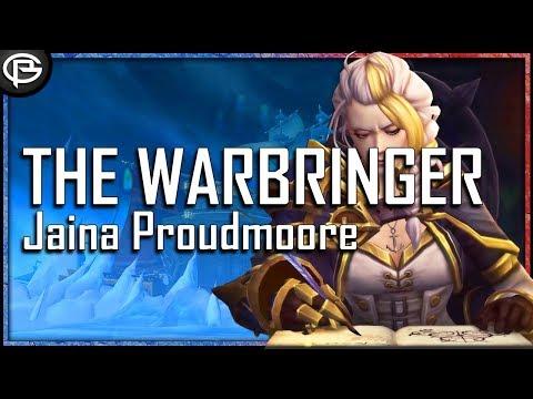 The Warbringer is Here : Jaina Proudmoore Raid Boss