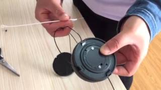 How to remove the alarm of spider wrap 1