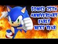 """Sonic's 25th Anniversary Early Next Year"""" Next Gen Sonic Game ?"""