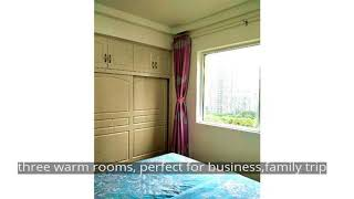 three warm rooms, perfect for business,family trip