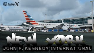 FSX [HD] - American Airlines | 757-200 | Approach to JFK