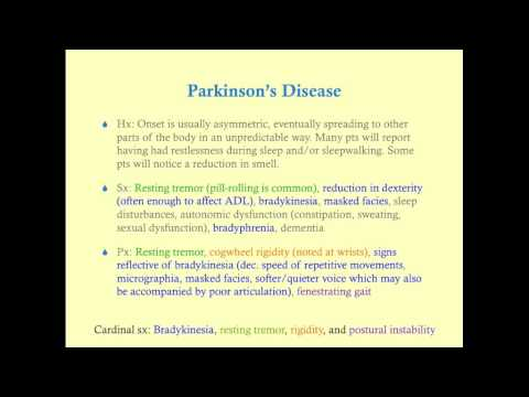 Parkinson's Disease - CRASH! Medical Review Series