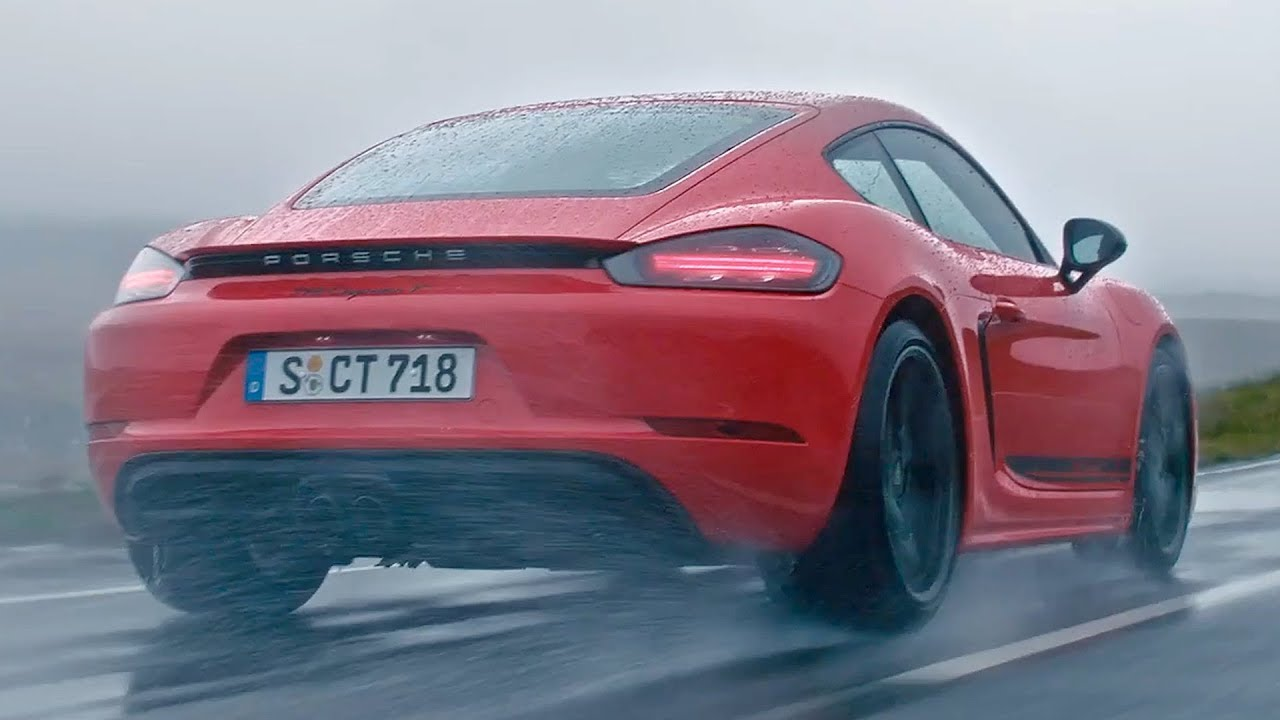 2019 Porsche 718 Cayman T And 718 Boxster T Youtube