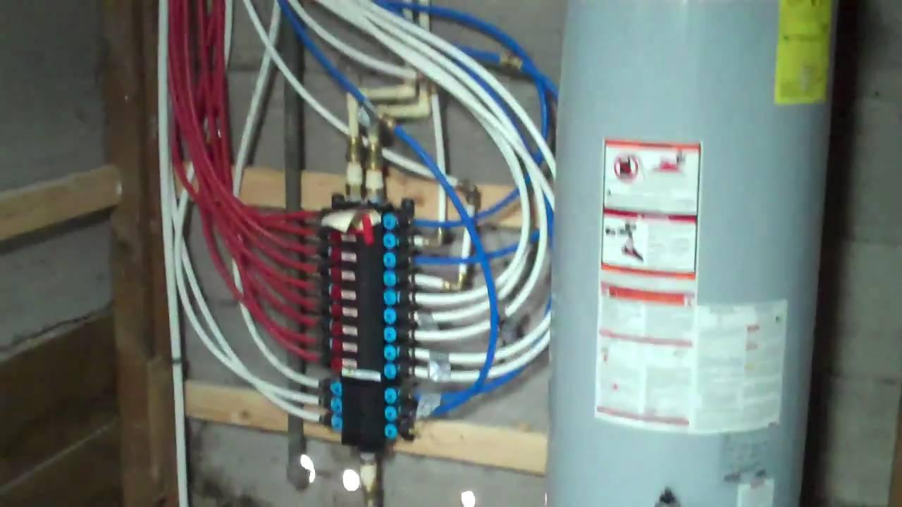 Job Huffmisterrd Cypresstx Waterheater Pex Manifold
