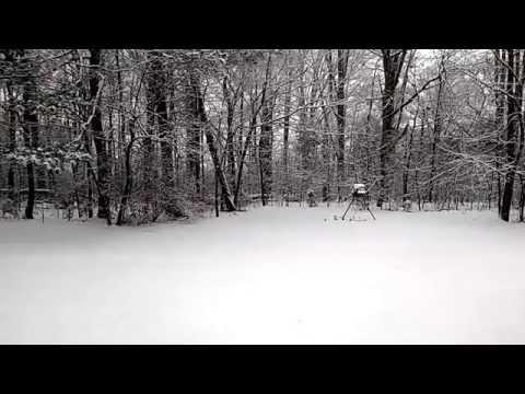 Harvest AL Snow Feb 25, 2015 (Time Lapse)