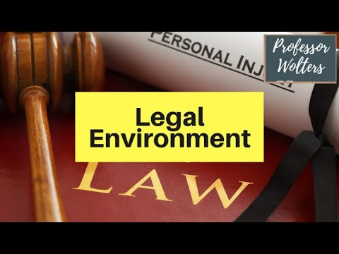 PEST Analysis: The Legal Environment - How Politics Affects Business