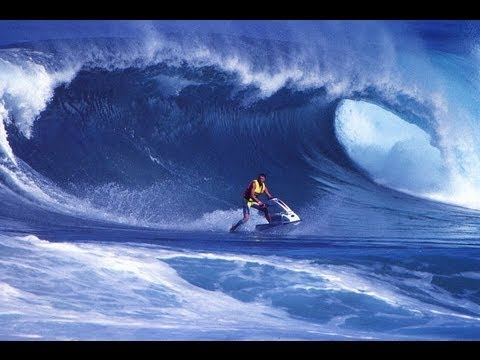 Surfing On A Stand Up Jet Ski Herbie Fletcher Youtube