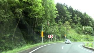 道道610号 占冠穂別線 車載動画 2011/06/14