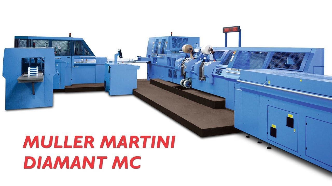 muller martini diamant mc hard cover book production year 2014 rh youtube com Muller Martini Vacuum Cups Muller Martini Stitcher