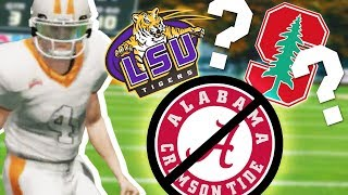 I Said NO to Attending Alabama // NCAA 14 Road to Glory #5